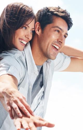 couple vivre heureux vih